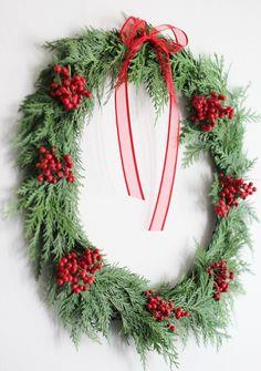 20-Minute Holiday Wreath